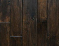 Engineered Acacia Dark Walnut Handscraped 9/16″ x 4 1/2″ On Sale $3.75 per Sq. Ft.