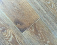 Brushed Euro Oak Engineered 9/16″ x 7 1/2″ 4mm wear Classic DK Smoked Sale $4.99 sq. ft.