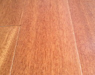 Engineered 9/16″ x 5″ Indonesian Balau Mahogany Sale $2.49