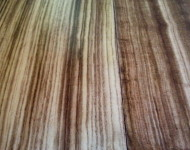 Engineered African Zebra Wood Natural – Sale $3.69 – 5/8″ x 5″