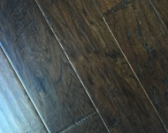 Engineered American Hickory Antique Finish Color Lincoln 3/8″ x 5″ On Sale $3.19 Sq. Ft.