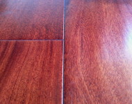 Engineered Santos Mahogany Hand Scraped Premium Grade On Sale $3.99  color: Natural 9/16″ x 5″