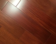 Engineered Santos Mahogany Smooth Finish Color Natural 1/2″ x 5″ On Sale $3.49 sq.ft.