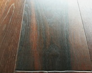 Engineered White Oak Wire Brushed Wide Planks Black Forest Sale $3.99 – 1/2″ x 6″