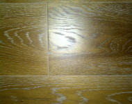 Engineered White Oak Wired Brushed Wide Planks Smoked Tobacco 1/2″ x 6″ sale $3.99