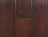 Solid Maple Redwine Hand scraped 3/4″ x 5″