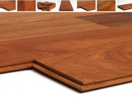 Made in Brazil – up to 6′ Grade A Solid Cumaru Brazilian Teak 3/4″ x 5″ Janka Hardness 3540 (3 times Maple) $5.49