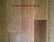 Engineered American Red Oak Gunstock 3/4″ x 3 1/4″ On Sale Now at $2.99 per Sq. Ft.