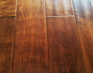 Solid Maple Hand-scraped Latte sale $3.99 – 3/4″ x 5″