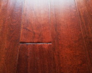 Solid Maple Hand-scraped Burgundy sale $3.99 – 3/4″ x 5″
