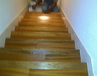 Stairs in process of reflooring