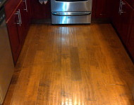 Engineered Maple Hardwood (Coconut Shell)