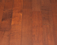 Engineered Maple Hand-scraped Purplish Red 1/2″ x 5″ sale $2.99
