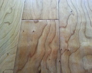 Engineered American Cherry Handscraped Natural Sale $4.49 1/2″ x 5″