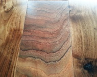 Engineered American Walnut Handscarped Natural Sale $4.49 9/16″ x 5″