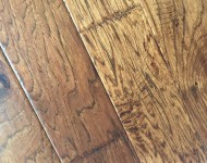 Engineered American Hickory Antique Finish Color Festive 3/8″ x 5″ On Sale $3.19 sq. ft.