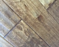Engineered Birch Antique Finish Color Homestead 3/8″ x 5″ On Sale $2.99 sq. ft.