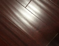 Engineered Doussie Antique Finish Color Chocolate 1/2″ (3mm) x 6″ On Sale $3.99 sq.ft.