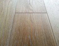 Engineered White Oak Wire Brushed Wide Planks Antique White Sale $3.99 – 1/2″ x 6″