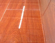 Laminate 12.3mm piano finished Red Alder Sale $1.69