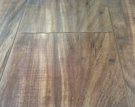 Laminate 12.3mm wide Hand Scraped Acacia Walnut Natural Sale $1.99