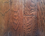 Engineered Hickory Mocha Hand-scraped sale $3.75 -1/2″ x 5″