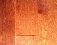 Engineered Maple Cayene Hand-scraped $3.29 – 1/2″ x 5″