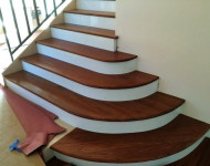 Our In-House Master Huy Hoang Stairs completed. Amazing job and most of all, our customer is completely satisfied..