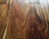 Engineered Acacia Natural Handscarped 9/16″ x 5″ Sale $4.29