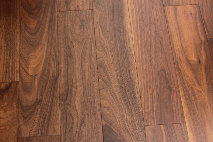 Engineered American Walnut 916 X 6 X 48 Long And Wide Planks Loc