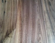 Engineered American Walnut Natural Handscraped 9/16″ x 6″ x 72″ long and wide planks LOC Easy Installation $3.89