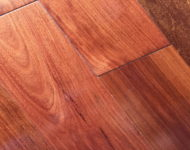 Solid Balsamo (Santos Mahogany) Smooth Natural 3/4″ x 5″ Sale $6.39